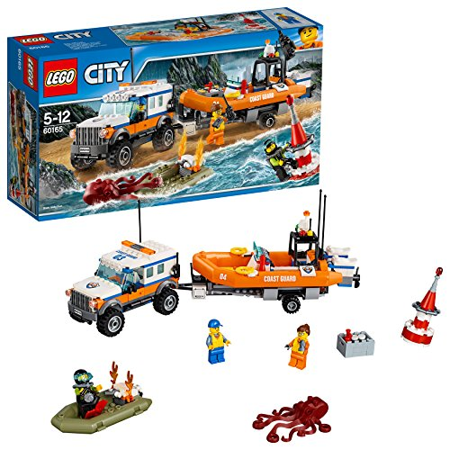 LEGO City - L'unité d'intervention en 4x4 - 60165 - Jeu de Construction
