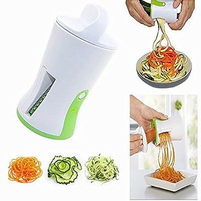 Spiralizzatore Affetta Verdure Spaghetti - OYD Qualità Affettatrice Spirale Vegetale Veggetti, Zucchine Pasta Tagliatella Spaghetti