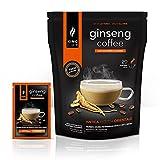 King Cup - Caffè al Ginseng con Zucchero di canna - Ginseng Solubile ( 20 bustine, 20 tazze )
