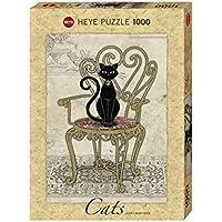 """Heye VD-29535 Puzzle Standard """"La Sedia del Gatto Jane Crowther"""", 1000 Pezzi"""