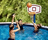 Water Sports Jammin' Basketball Poolside Above-Ground Swimming Pool Game