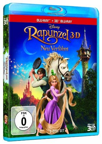 Rapunzel - Neu verföhnt (+ Blu-ray 2D) [Blu-ray 3D]: Alle Infos bei Amazon