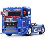 "Tamiya 58642 - ""1:14 RC Team Reinert Rac. MAN TGS TT-01E"" Fahrzeug"