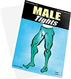 Fancy Dress Accessory Tights Male White