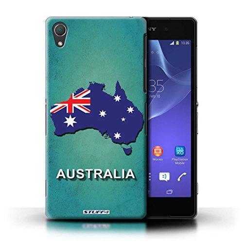 Kobalt® Imprimé Etui / Coque pour Sony Xperia Z2 / Russie/Russe conception / Série Drapeau Pays Australie
