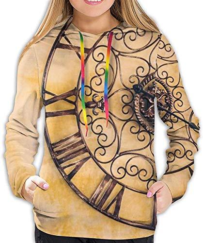 Catagory: Sudaderas con capucha para mujer, estampado floral, sudadera con doble bolsillo con capucha, capucha y cordón Material: poliéster y algodón. Producto de alta calidad. Estilo único, te hace hermosa, a la moda, sexy y elegante. Ocasión: prima...