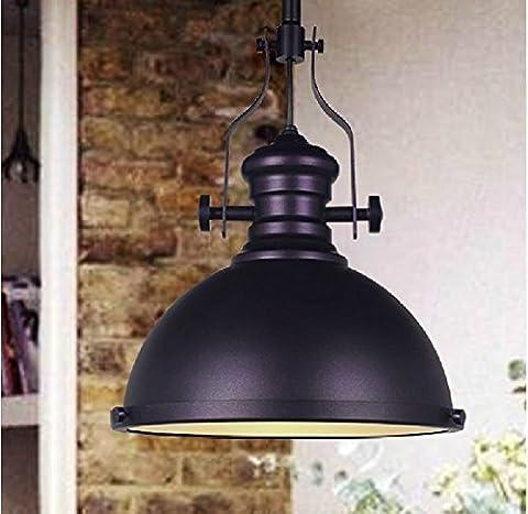 Frideko Vintage Industrial Metal Lampshade Ceiling Pendant Light for Coffee