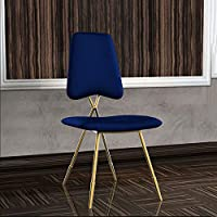 MO XIAO BEI Individuelle Rückenlehne Stuhl Esszimmerstuhl Makeup Hocker Schlafzimmer (Farbe : Blau) preisvergleich bei kinderzimmerdekopreise.eu