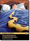 PLPR4:Three Adventures of Sherlock Holmes Bk/CD Pack: Level 4 (Penguin Readers (Graded Readers))