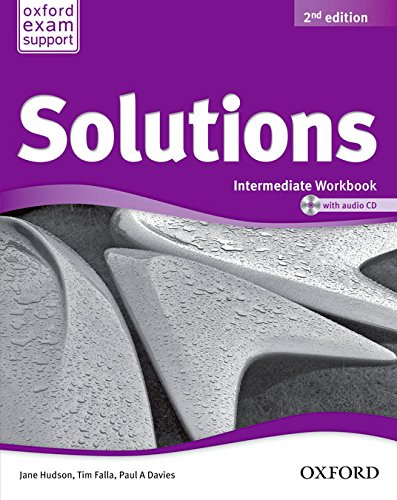 Solutions Intermediate Workbook & CD Pack 2ª Edición (Solutions Second Edition) - 9788467382020