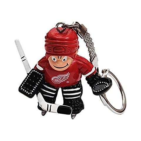 NHL Detroit Red Wings Goalie Keychain by JF Sports Canada