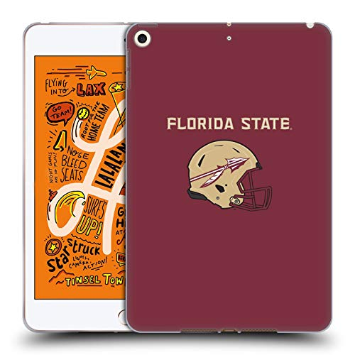 Head Case Designs Offizielle Florida State University FSU Helm Logotype Soft Gel Huelle kompatibel mit iPad Mini (2019) Florida State Mini Helm