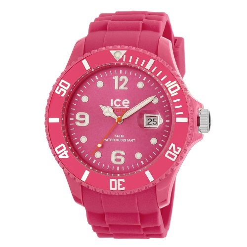 Ice-Watch Men's Ice-Winter SW.HP.B.S.11 Pink Silicone Quartz Watch with Pink Dial
