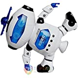 Dancing Robot Toy With Music & Flashing Light Non Stop Play Best Gift For Kids