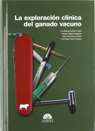La exploración clínica del ganado vacuno - Libros de veterinaria - Editorial Servet