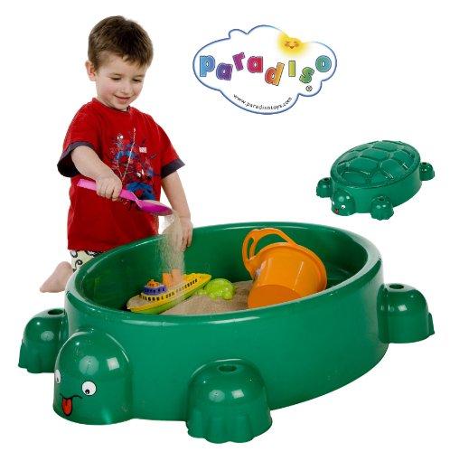 Paradiso Toys - 743 - Sandkasten Schildkröte + Deckel