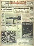sud ouest no 6959 du 09 01 1967 chine confusion et contradictions l un des assassins de brive avoue un autre crime serge barany la 1ere phase de la pre campagne electorale touche a sa fin les artisans chez de gaulle projet de reforme dans