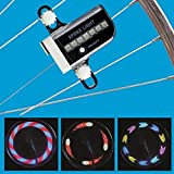 UDee 14 LED Bicycle Wheel Signal Tire Spoke Light 30 Changes