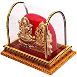[Sponsored Products]Laxmi Ganesh Idol In Acrylic Cabinet Showpiece For Home Decoration (figurine Idol For Home Decor And Gift Purpose)