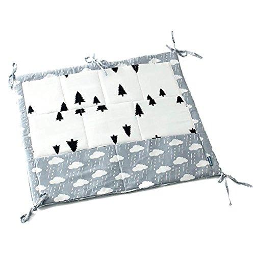 GGG Niños Bebé berenjena cuna Multifuncional pañal cama Multi bolsillo colgante de almacenamiento de bolsa-nubes