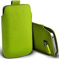 ( Green ) Orange Miami Protezione Faux Leather Pull pelle