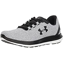 Under Armour Remix, Zapatillas de Running para Hombre, Blanco (White Black 100), 41 EU
