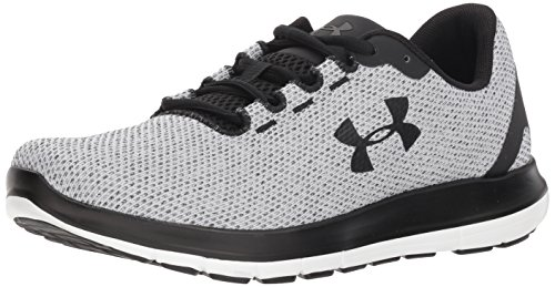 Under Armour Remix Fw18, Scarpe Running Uomo, Bianco (White/Black/Black 100), 40 EU