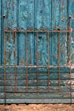 KUHEIGA Rankgitter/Rankzaun Metall Rost, Mailand Höhe: 120cm B: 90cm Metall Eisenzaun