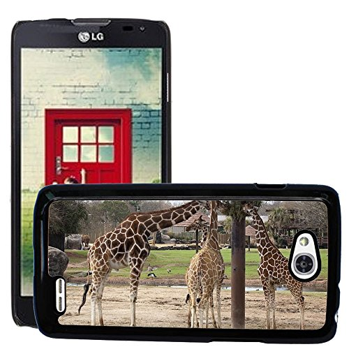 Nur Handy HOT STYLE HANDY PC Hard Case Cover//m00139373Giraffen Essen Füttern Zoo Wildlife//LG Optimus L90D415 (Lg Optimus L90 Hard Phone Case)
