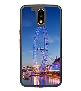 London Eye 2D Hard Polycarbonate Designer Back Case Cover for Motorola Moto G4