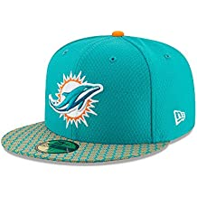 New Era NFL MIAMI DOLPHINS Authentic 2017 Sideline 59FIFTY Game Cap