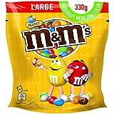M&M'S Peanut / Schokolierte Erdnüsse in bunter Zuckerglasur / Ideal zum Knabbern, Verschenken und Backen / 5 x 330g Beutel