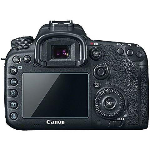 Canon EOS 7D SLR Vetro reale Screen Protector salvaschermo 9H