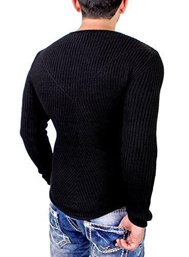 Redbridge - Pull - Homme Noir - Noir
