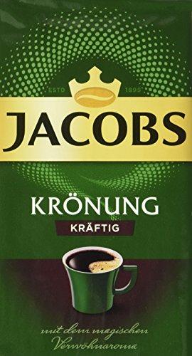 Jacobs Krönung Kräftig, 12er Pack Filterkaffee (12 x 500 g) (Bh Panty Passender)