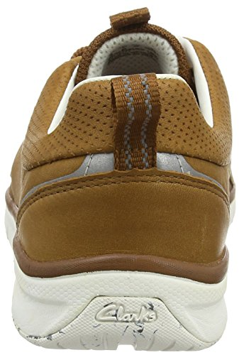 Clarks Orson Crew, Baskets Basses homme Marron (Tan Leather)