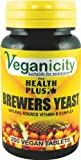Veganicity Brewers Yeast Energy and General Well Being 300mg Supplement 200 Tablets Pack of 2