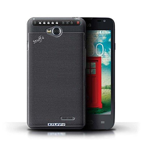 Kobalt® Imprimé Etui / Coque pour LG L65/D280 / Amplificateur conception / Série Haut-Parleur dessin Amplificateur
