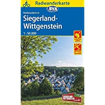 Radwanderkarte BVA Radwandern in Siegerland-Wittgenstein 1:50.000, reiß- und wetterfest, GPS-Tracks Download (Radwanderkarte 1:50.000)