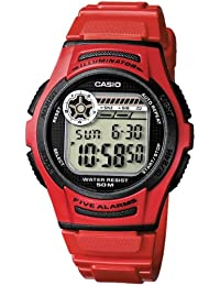 Casio Collection Reloj de Pulsera W-213-4AVES