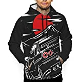 Men's Nissan Skyline GTR 34 Sweater Hoodie Fashion Pullover Sweatshirt