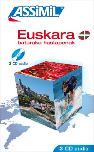 Euskara baturako Hastapenak ; Enregistrements CD Audio (x3) par J.Charles Beaumont