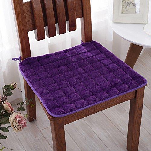 LELI Superior acolchada silla, Cojín de silla comedor Cojín silla transpirable,Agradable y suave-A 40x40cm(16x16inch)