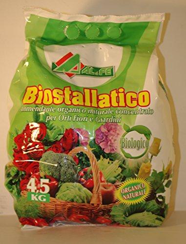 Biostallatico Engrais naturel, 4,5 kg