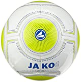 Jako Ball Futsal Light 3.0, Weiß/Lemon/Marine-360G, 4, 2337