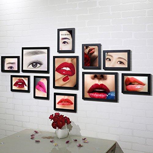 William 337 Schönheitssalon Promotion Ideen, koreanische Tattoo, Augenbrauen, Lippe, Halbpermanentes Poster Fotorahmen, Wanddekoration, Gemälde, B (Koreanisch Lippen Tattoo)