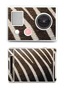 SKIN STICKERS FOR GOPRO HERO (STICKER : ZEBRE)