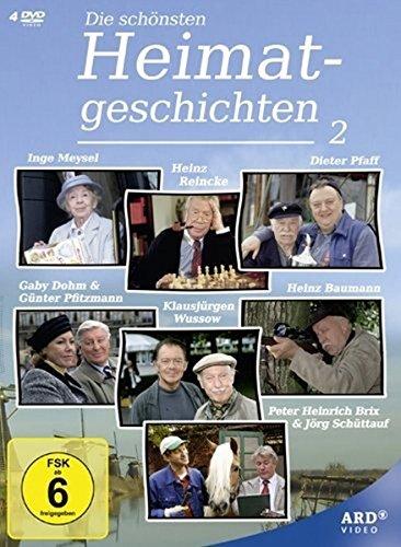 Die schönsten Heimatgeschichten, Vol. 2 (4 DVDs)