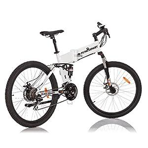 FLYING DONKEY Pedelec e-Bike Full-Suspension Mountainbike Elektro-Fahrrad Elektrisches Klapprad 350 Watt