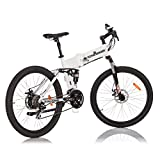 FLYING DONKEY Pedelec e-Bike Full-Suspension Mountainbike Elektro-Fahrrad Elektrisches Klapprad 250 Watt